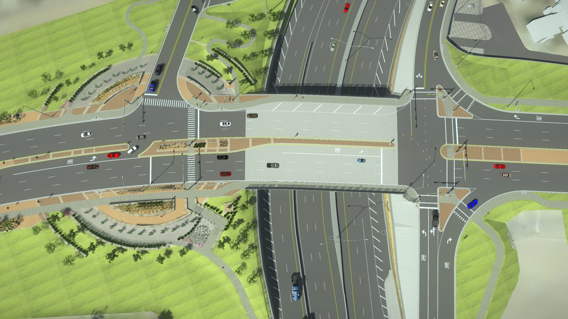 Bentley Openroads LumenRT 3D modeling visualization