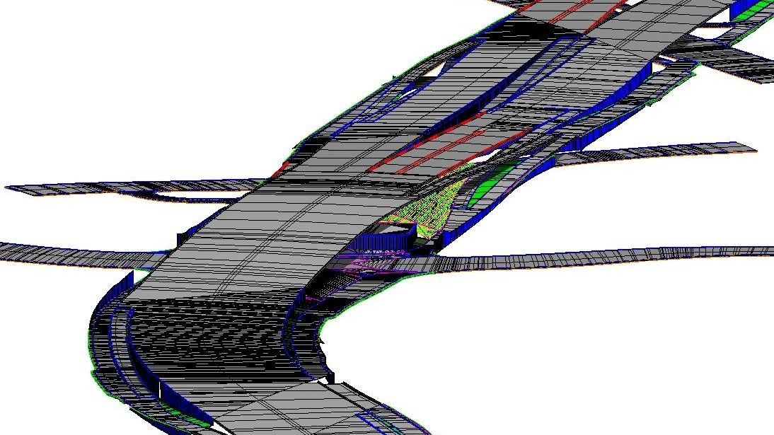 Microstation Openroads Superelevations 3D corridor modeling