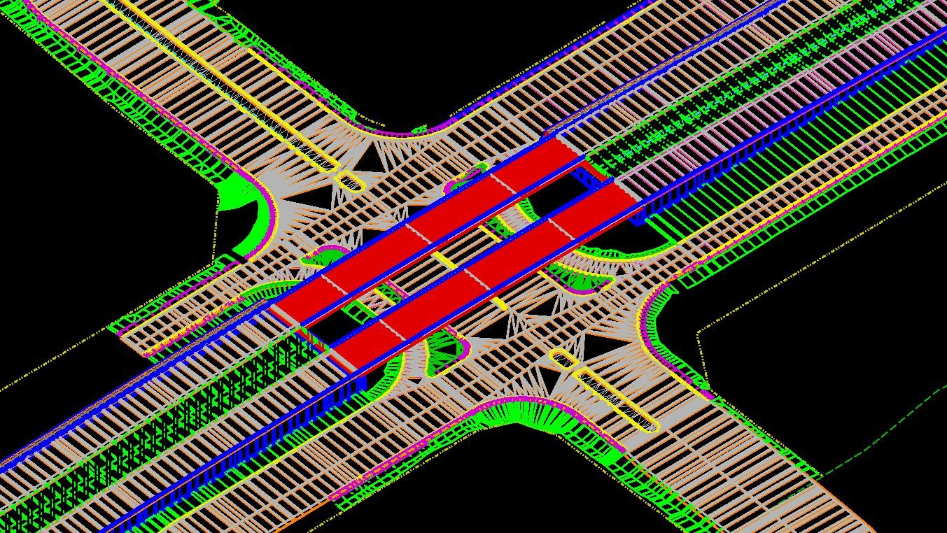 Microstation Openroads cross sections 3D corridor modeling