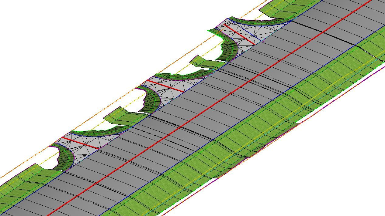 Openroads civil cells Microstation corridor modeling visualization